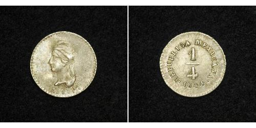 1/4 Real Mexico Silver
