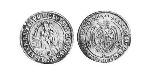 1/4 Thaler Duchy of Bavaria (907 - 1623) Silver Maximilian I, Elector of Bavaria (1573 – 1651)