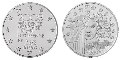 1.5 Евро Пятая французская республика (1958 - )