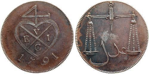 1.5 Paisa India (1950 - ) Copper