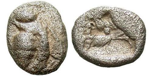 1/64 Stater Hellenic Republic (1974 - ) Silver