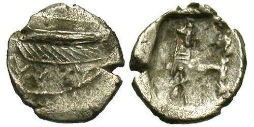 1/8 Shekel Ancient Greece (1100BC-330) Silver