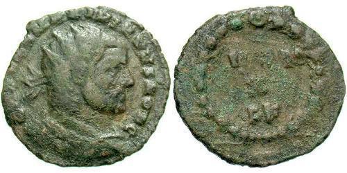 1 AE_ Roman Empire (27BC-395) Bronze Galerius Maximianus (260-311)