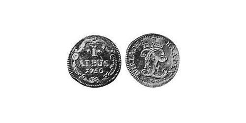 1 Albus Margrave of Baden-Durlach (1535 - 1771) Billon