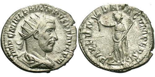 1 Antoniniano Impero romano (27BC-395) Argento Filippo I (204-249)