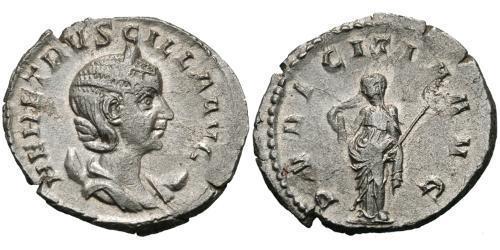 1 Antoninianus 羅馬帝國 銀 Herennia Etruscilla (249-251)