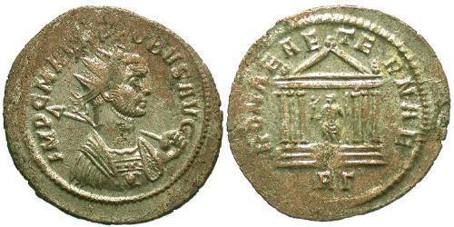 1 Antoninianus 羅馬帝國 銀/銅 Probus (232-282)