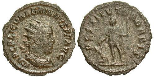 1 Antoninianus Roman Empire (27BC-395) Billon Valerian I (193-260)
