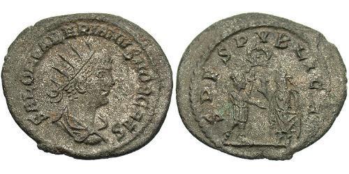 1 Antoninianus Roman Empire (27BC-395) Billon Saloninus (242 - 260)