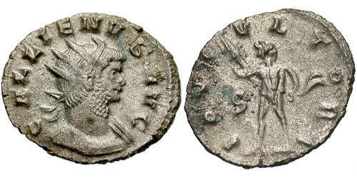 1 Antoninianus Roman Empire (27BC-395) Billon Gallienus (218-268)