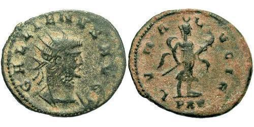 1 Antoninianus Roman Empire (27BC-395) Bronze Gallienus (218-268)