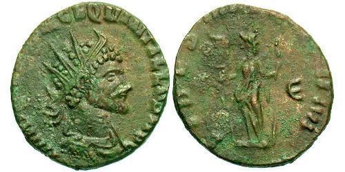 1 Antoninianus Roman Empire (27BC-395) Bronze Quintillus (220-270)