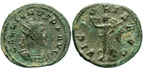 1 Antoninianus Roman Empire (27BC-395) Bronze Gallienus (218-268)
