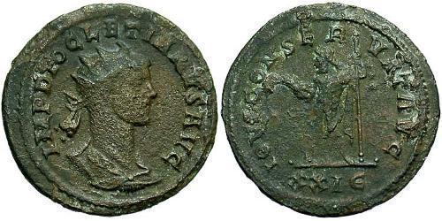 1 Antoninianus Roman Empire (27BC-395) Bronze Diocletian (244-311)
