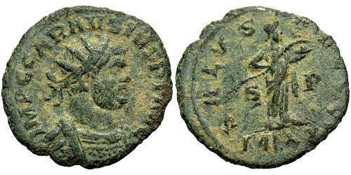 1 Antoninianus Roman Empire (27BC-395) Bronze Carausius (?-293)