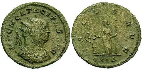 1 Antoninianus Roman Empire (27BC-395) Bronze Tacitus (200-276)