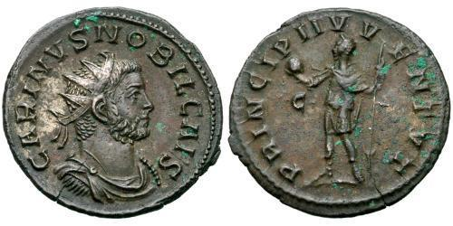 1 Antoninianus Roman Empire (27BC-395) Bronze Carinus (257-285)