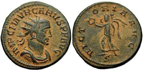 1 Antoninianus Roman Empire (27BC-395) Bronze Carus (230-283)