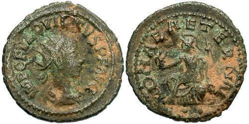 1 Antoninianus Roman Empire (27BC-395) Bronze Quietus (?-261)