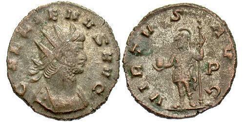 1 Antoninianus Roman Empire (27BC-395) Copper/Silver Gallienus (218-268)