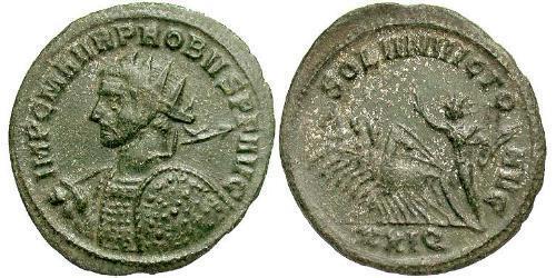 1 Antoninianus Roman Empire (27BC-395) Copper/Silver Probus (232-282)