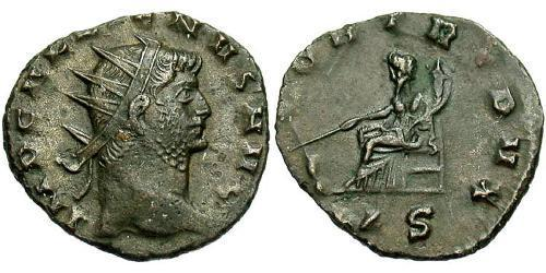 1 Antoninianus Roman Empire (27BC-395) Copper/Silver Gallienus (218-268)