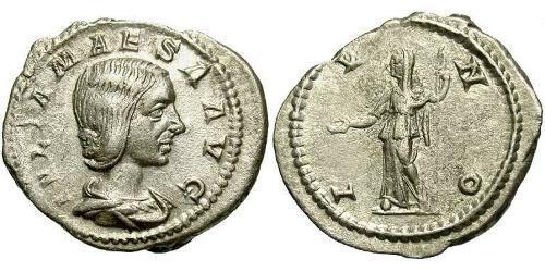 1 Antoninianus Roman Empire (27BC-395) Silver Julia Maesa (165-224)