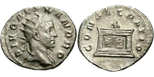 1 Antoninianus Roman Empire (27BC-395) Silver Severus Alexander (208-235)