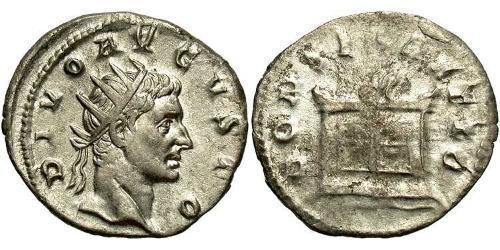 1 Antoninianus Roman Empire (27BC-395) Silver Augustus (63BC- 14)
