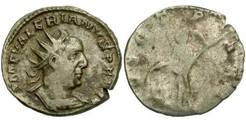 1 Antoninianus Roman Empire (27BC-395) Silver Valerian I (193-260)