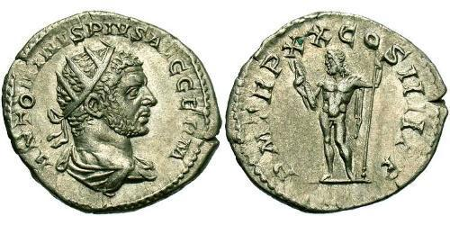 1 Antoninianus Roman Empire (27BC-395) Silver Caracalla (188-217)
