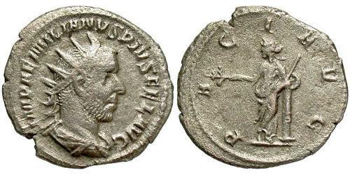 1 Antoninianus Roman Empire (27BC-395) Silver Aemilian (207-253)