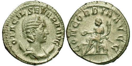 1 Antoninianus Roman Empire (27BC-395) Silver Otacilia Severa (244-249)