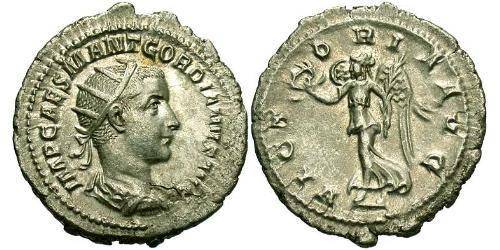 1 Antoninianus Roman Empire (27BC-395) Silver Gordian III (225-244)