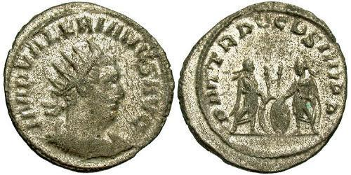 1 Antoninianus Roman Empire (27BC-395) Silver Gallienus (218-268)