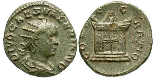 1 Antoninianus Roman Empire (27BC-395) Silver Valerian II (?-258)