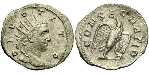 1 Antoninianus Roman Empire (27BC-395) Silver