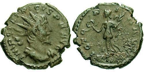 1 Antoninianus Gallic Empire (260-274)  Tetricus I (?-273)
