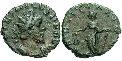 1 Antoninianus Gallic Empire (260-274)  Tetricus I (?-273)