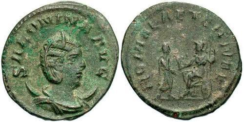 1 Antoninianus Roman Empire (27BC-395)  Salonina (?-268)