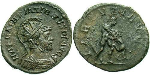 1 Antoninianus Roman Empire (27BC-395)  Maximianus (250-310)