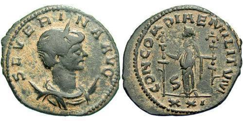 1 Antoninianus Roman Empire (27BC-395)  Ulpia Severina (?-?)