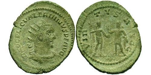 1 Antoninianus Roman Empire (27BC-395)  Valerian I (193-260)