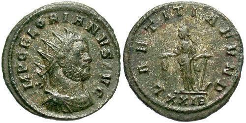 1 Antoninianus Roman Empire (27BC-395)  Florian (?-276)