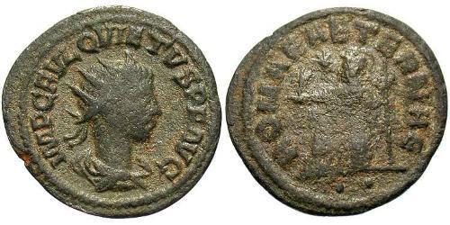 1 Antoninianus Roman Empire (27BC-395)  Quietus (?-261)