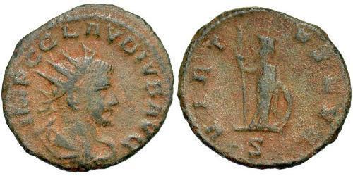 1 Antoninianus Roman Empire (27BC-395)  Claudius II  (213-270)