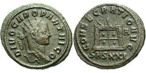 1 Antoninianus Roman Empire (27BC-395)  Carus (230-283)