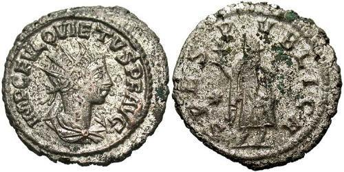 1 Antoninianus Roman Empire (27BC-395)  Quietus (?-261)