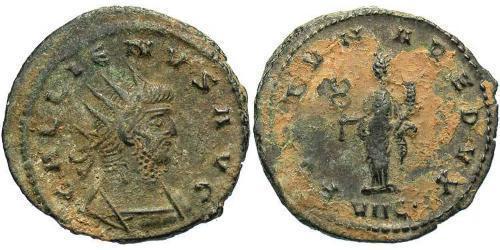 1 Antoninianus Roman Empire (27BC-395)  Gallienus (218-268)