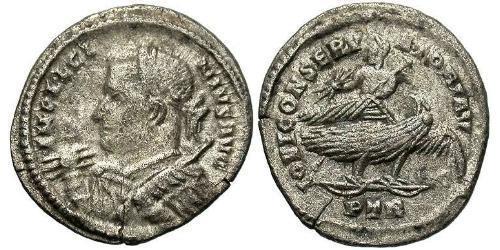 1 Argenteus Roman Empire (27BC-395) Silver Licinius I (265-324)